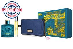 Eros by Versace, 3 Piece Gift Set for Men
