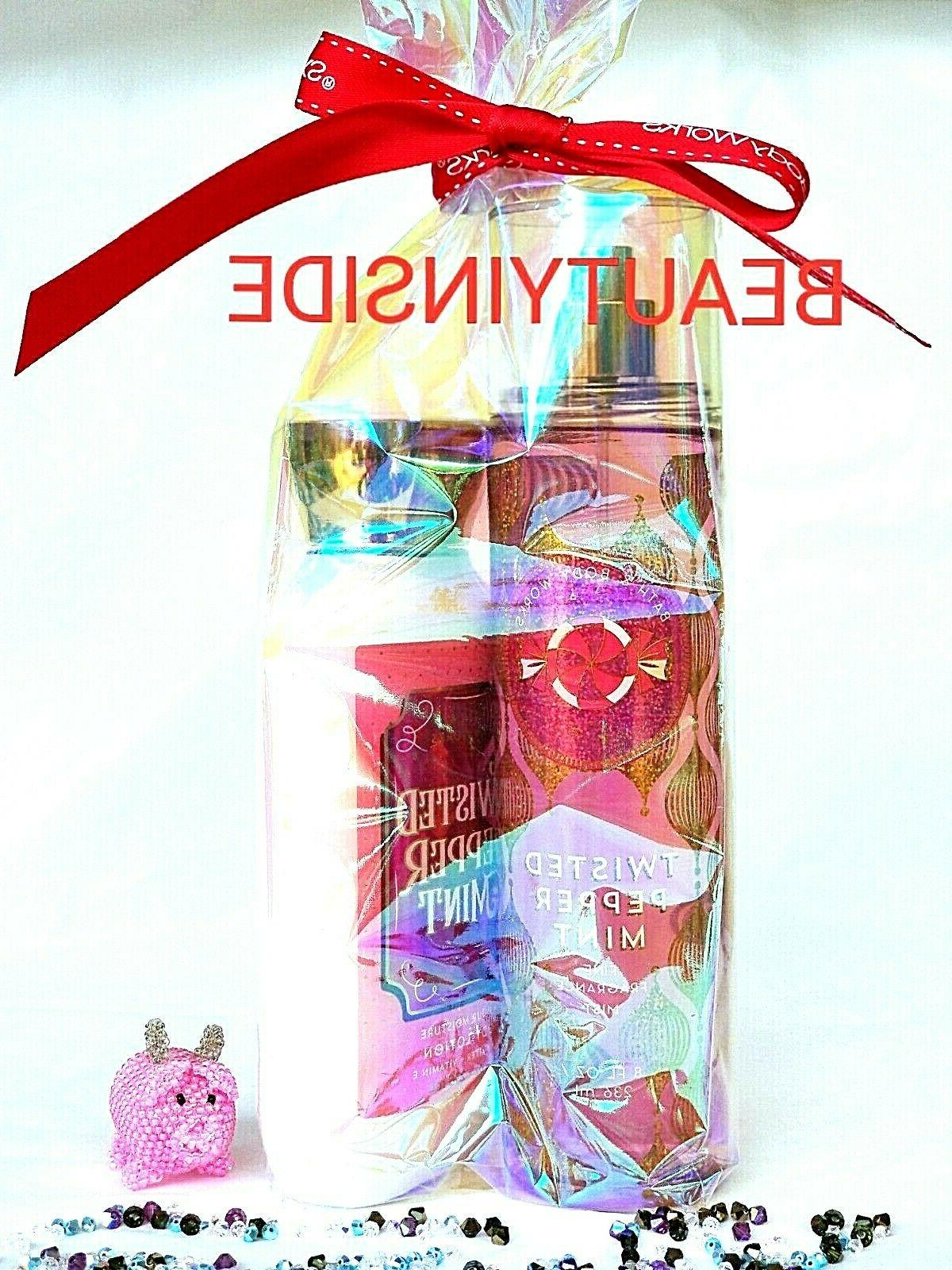 bath and body works twisted peppermint fragrance
