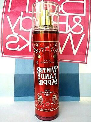 bath and body works winter candy apple