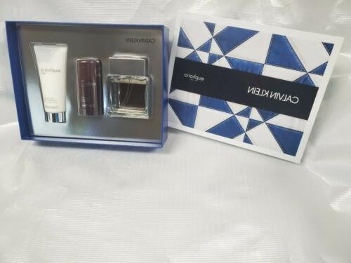 euphoria for men by 3pc gift set