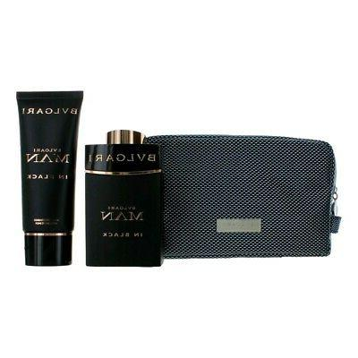 man in black by 3 piece gift